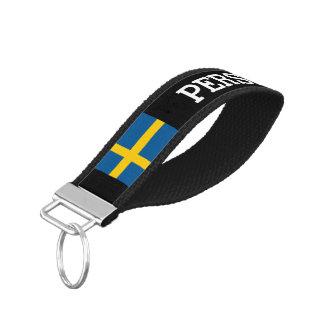 Llavero sueco de encargo de la muñeca de la llavero de pulsera