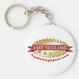 Llavero superior del agente de venta