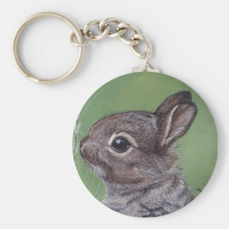 Llavero tan lindo del conejito del conejo
