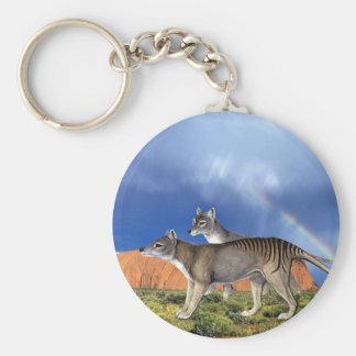 Llavero tasmano del tigre