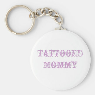 llavero tatuado de la mamá