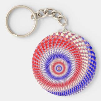 Llavero tricolor de Roundalls