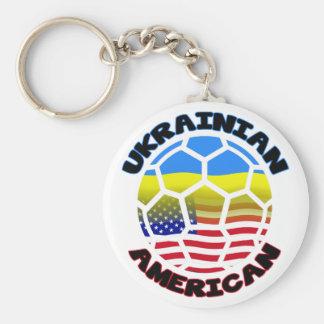 Llavero ucraniano del fútbol del fútbol americano