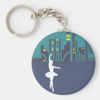 Llavero urbano del bailarín de ballet