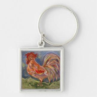 Llavero valiente del gallo