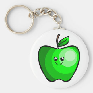 Llavero verde lindo de Apple