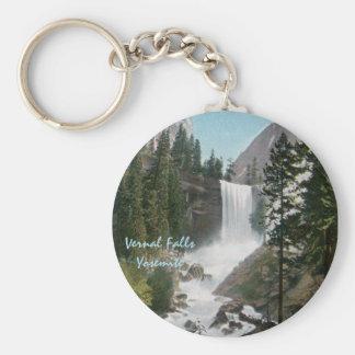 Llavero vernal de Yosemite del vintage de las caíd