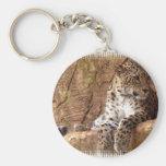 Llavero vigilante del leopardo