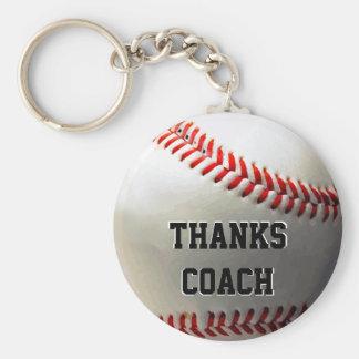 Llaveros a granel del entrenador de béisbol. Coche