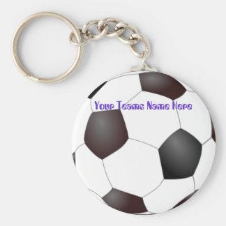 Llaveros adaptables del equipo de Soccerball
