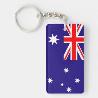 Llaveros australianos de la bandera