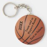 Llaveros baratos del baloncesto 3 plantillas de la
