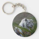 Llaveros blancos del tigre