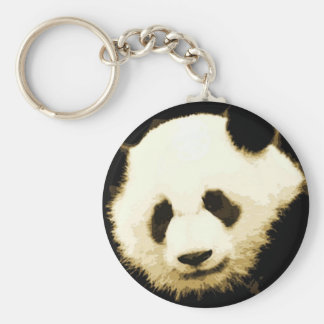 Llaveros bonitos de la panda