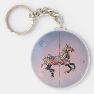 Llaveros - caballo 1 del carrusel de Petaluma