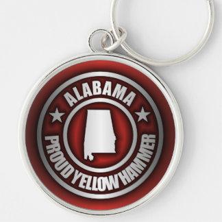 """Llaveros de acero de """"Alabama"""" (rojos)"""