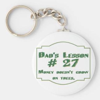 Llaveros de la lección #27 del papá