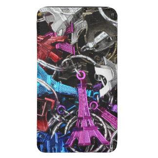 Llaveros de la torre Eiffel de París Funda Para Galaxy S5