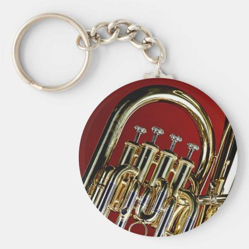 Llaveros de la tuba o del Sousaphone para los músi
