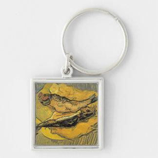 """Llaveros de los """"arenques ahumados"""" de Van Gogh"""