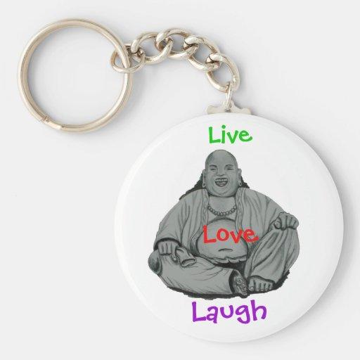 Llaveros de risa de Buda