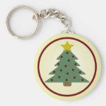 Llaveros del árbol de navidad