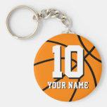 Llaveros del baloncesto del número 10 el | Persona