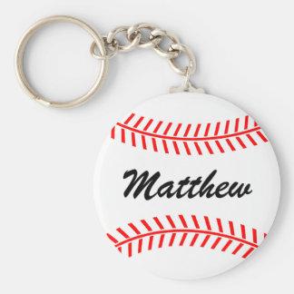 Llaveros del béisbol de Personalizable