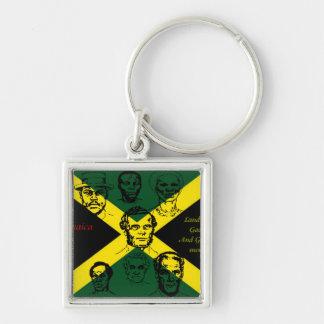 llaveros del héroe nacional de Jamaica