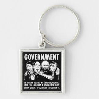 Llaveros del premio de Lunatics del gobierno