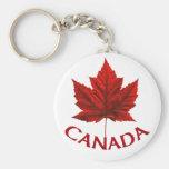 Llaveros del recuerdo de Canadá y regalos de Canad