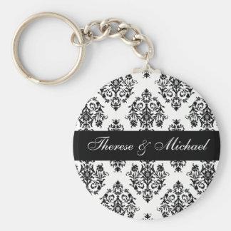 Llaveros del regalo del favor del boda