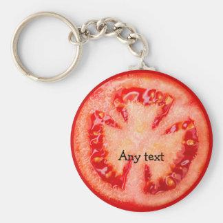 Llaveros del tema del tomate