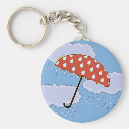 Llaveros lindos del paraguas