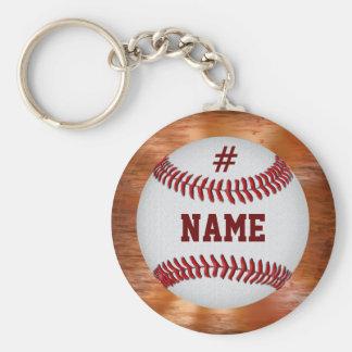 Llaveros personalizados baratos del béisbol para