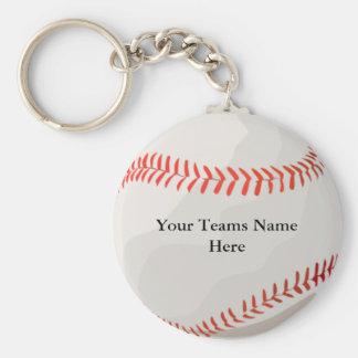 Llaveros personalizados del béisbol