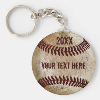 Llaveros personalizados del béisbol para el EQUIPO