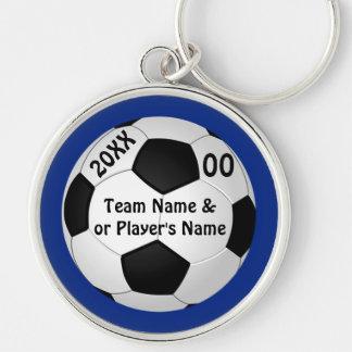 Llaveros personalizados del fútbol SUS colores y