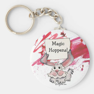 Llaveros personalizados lindos mágicos de Hoppens