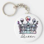Llaveros reales de la reina de la corona