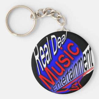 Llaveros reales del entretenimiento de la música d