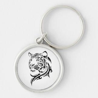 Llaveros tribales del tigre del estilo