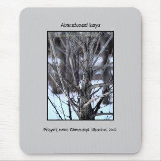 Llaves abandonadas, Chernóbil Mousepad