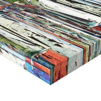 Llaves abstractas del piano impresiones de lienzo