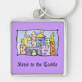 Llaves al castillo llavero personalizado