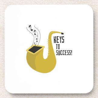 Llaves al éxito posavaso