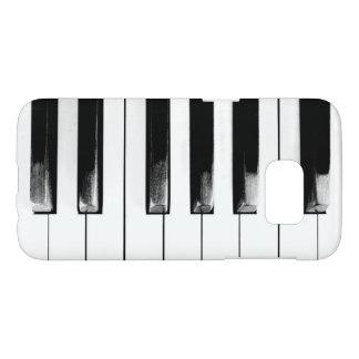 Llaves antiguas del piano funda samsung galaxy s7