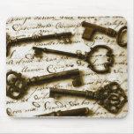 Llaves antiguas tapete de raton