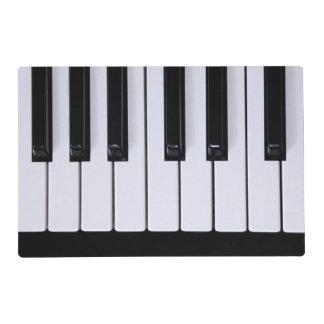 Llaves clásicas del piano salvamanteles