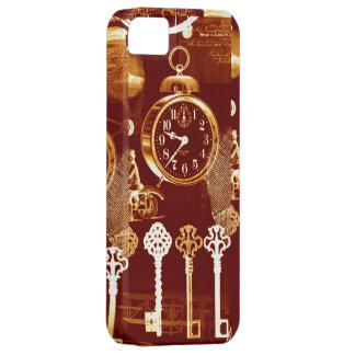 Llaves de cobre y fundición ideal de Steampunk de  iPhone 5 Case-Mate Fundas